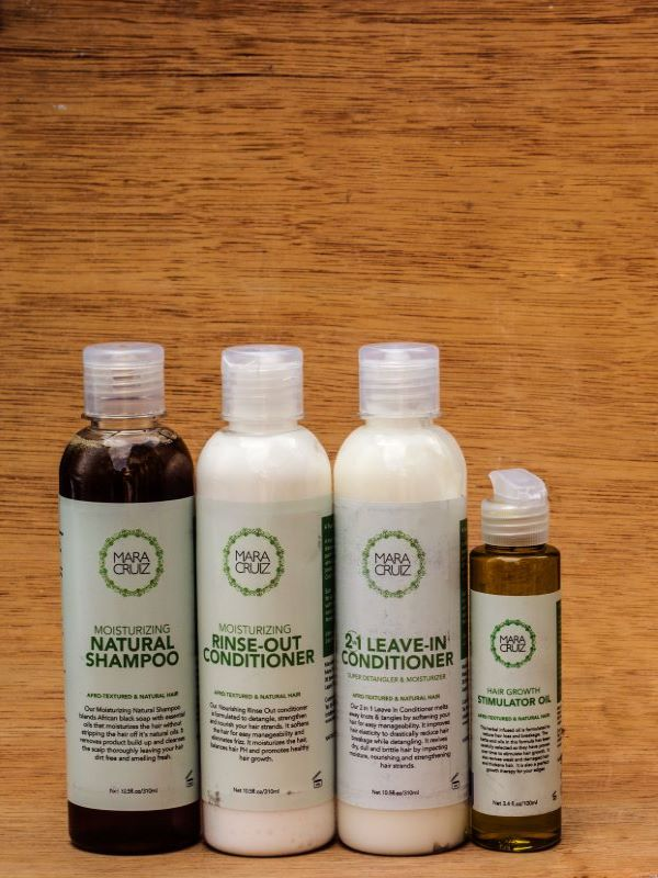 natural hair care system