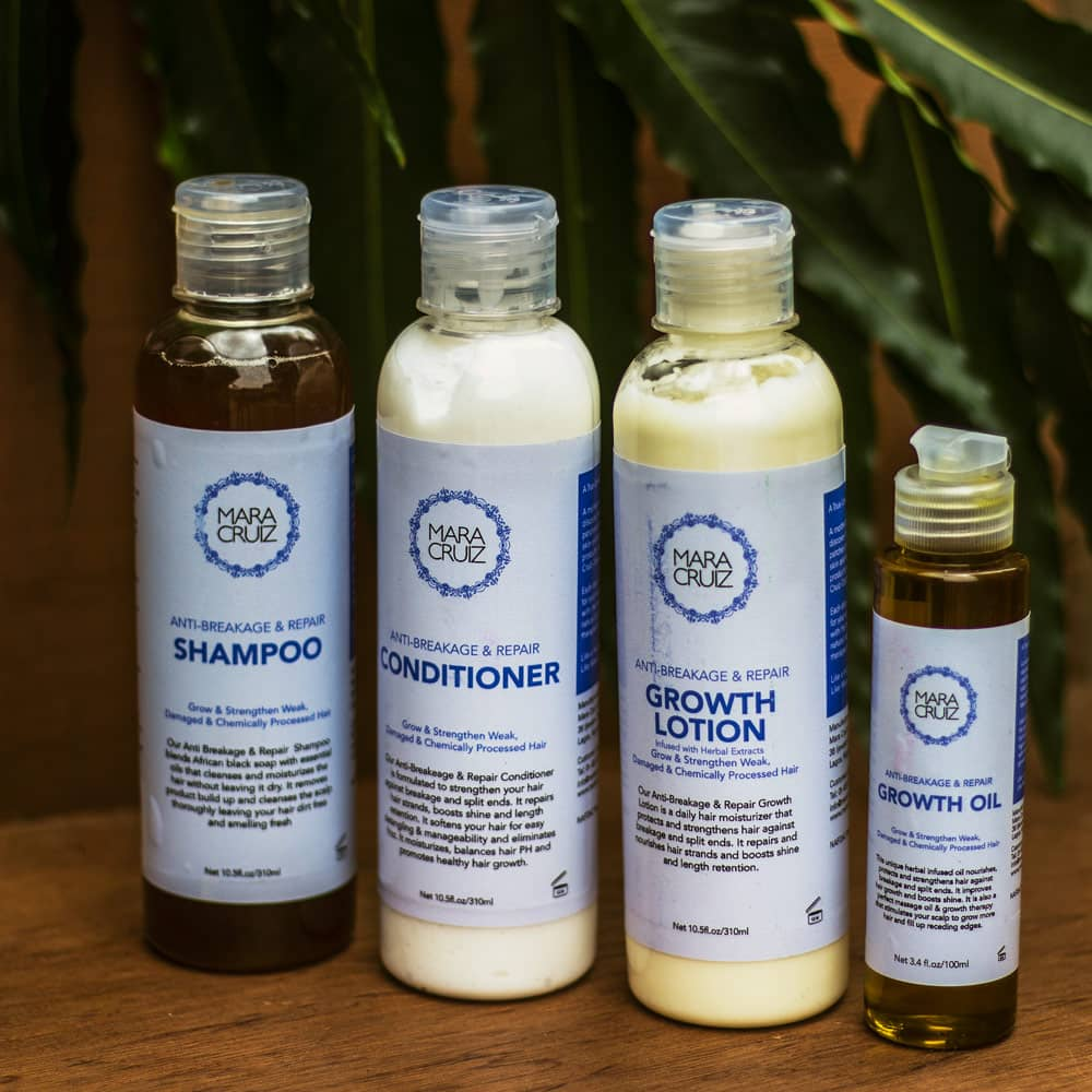 Relaxed Hair Care System